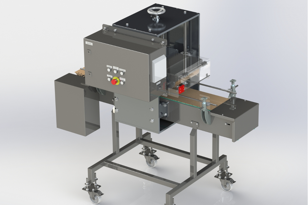 3d model of a sealing machine