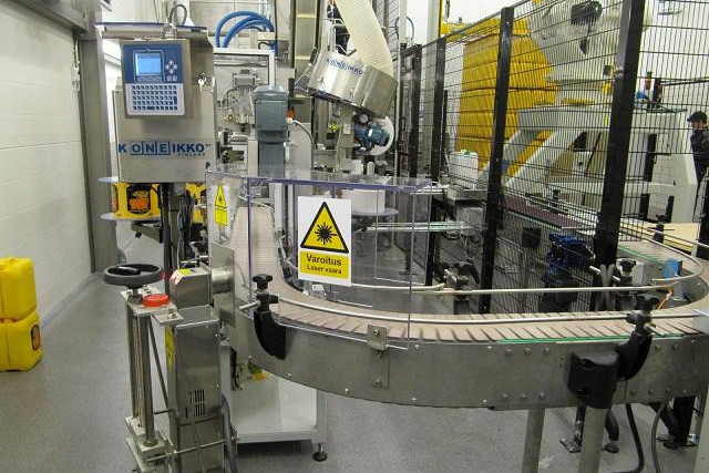 Canister filling line